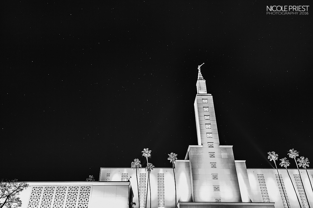 Nicole Priest Photo-Los Angeles Temple IMG_0058-BW copy